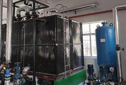 变频恒压不锈钢供水设备