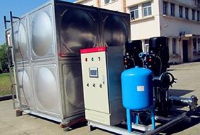 山西箱泵一体化恒压变频供水设备