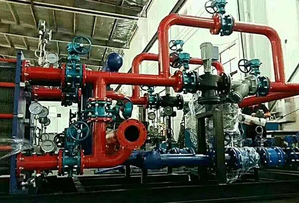 张夏供水板式换热机组