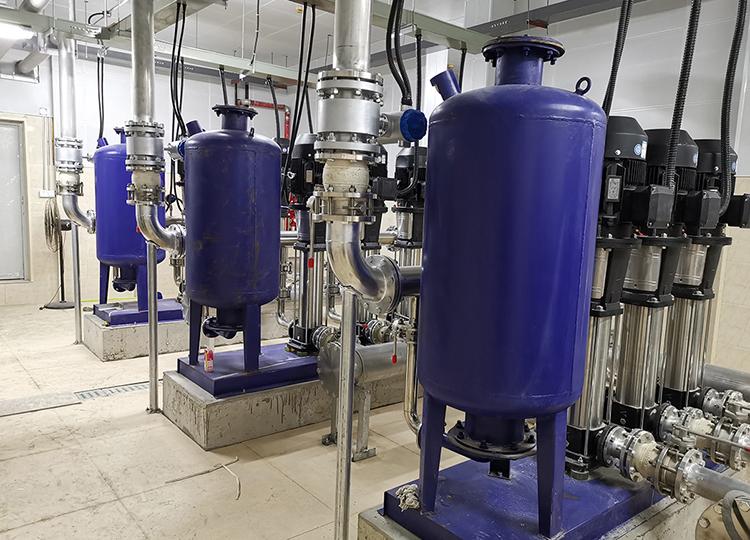 选煤厂使用恒压变频供水设备